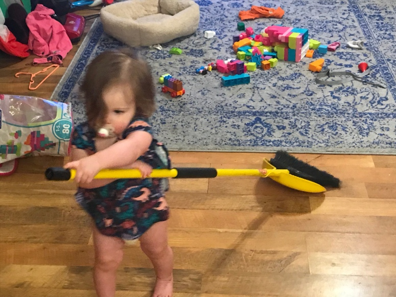 Baby cleaning