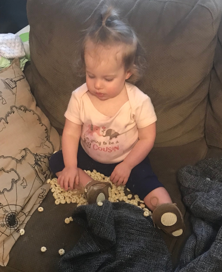 Toddler mess