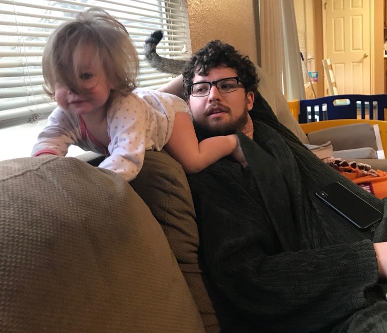 Sundays with a toddler